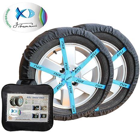 Funda antideslizante de tracción sobre nieve para neumáticos