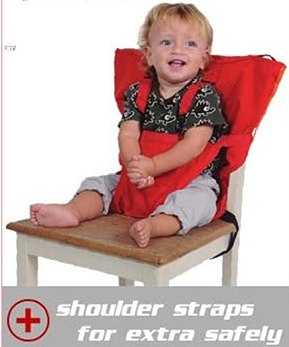 US Baby Feeding Seat High Chair Portable Travel Infant Sacking Safety Seat Belt