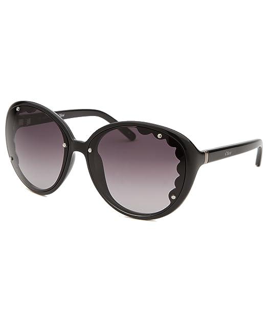 a315b319f36 Chloe Sunglasses CE 652S 001 Black Black Gradient  Amazon.ca ...