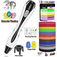 3D Stifte, für Kinder Erwachsene mit PLA Filament 12 Farben -【Neueste Version 2018】Lovebay