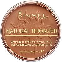 Rimmel London Natural Bronzer, 23 Sun Glow, 14 g