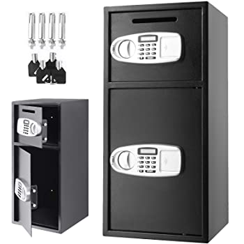 VEVOR Large Double Door Security Safe Box