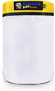 BUBBLEBAGDUDE Bubble Bags 20 Gallon 220 Micron Zipper Bag for 20 Gallon Bubble Machine Herbal Ice Essence Extraction Bag - Reusable Wash Bag