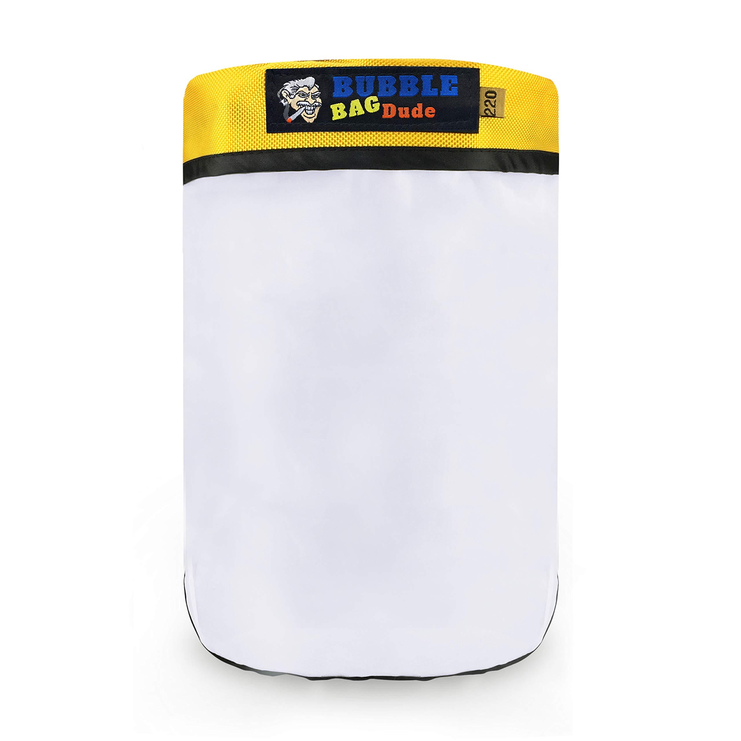 BUBBLEBAGDUDE Bubble Bags 5 Gallon 220 Micron Zipper Bag for 5 Gallon Bubble Machine Herbal Ice Essence Extraction Bag - Reusable Wash Bag