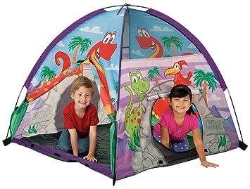 Pacific Play Tents Kids Dinosaur Dome Tent for Indoor / Outdoor Fun - 48u0026quot; x  sc 1 st  Amazon.com & Amazon.com: Pacific Play Tents Kids Dinosaur Dome Tent for Indoor ...