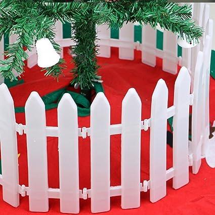 Oksale 120cm Merry Christmas Plastic Febces Christmas Tree Fences