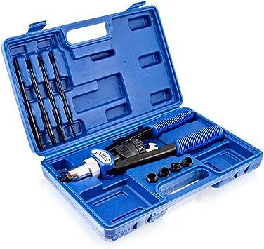 Bituxx Nietmutternzange Nietzange Blindnietzange Nietenzange M5 M6 M8 M10 M12 Inklusive 150 Tlg Nietmuttern Baumarkt
