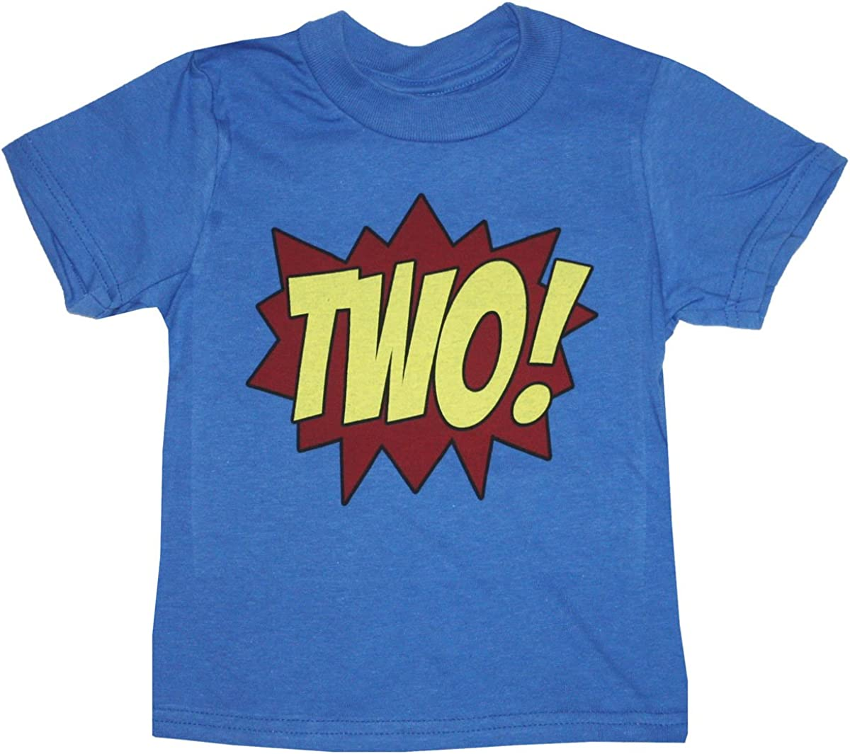 Happy Family Clothing Little Girls Superhero Second Birthday T-Shirt
