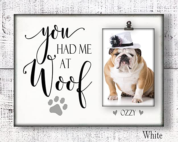 gifts for pet lovers. Dog Photo Frame For 4x6 Photo, Pet Picture Frame, Gifts Lovers R
