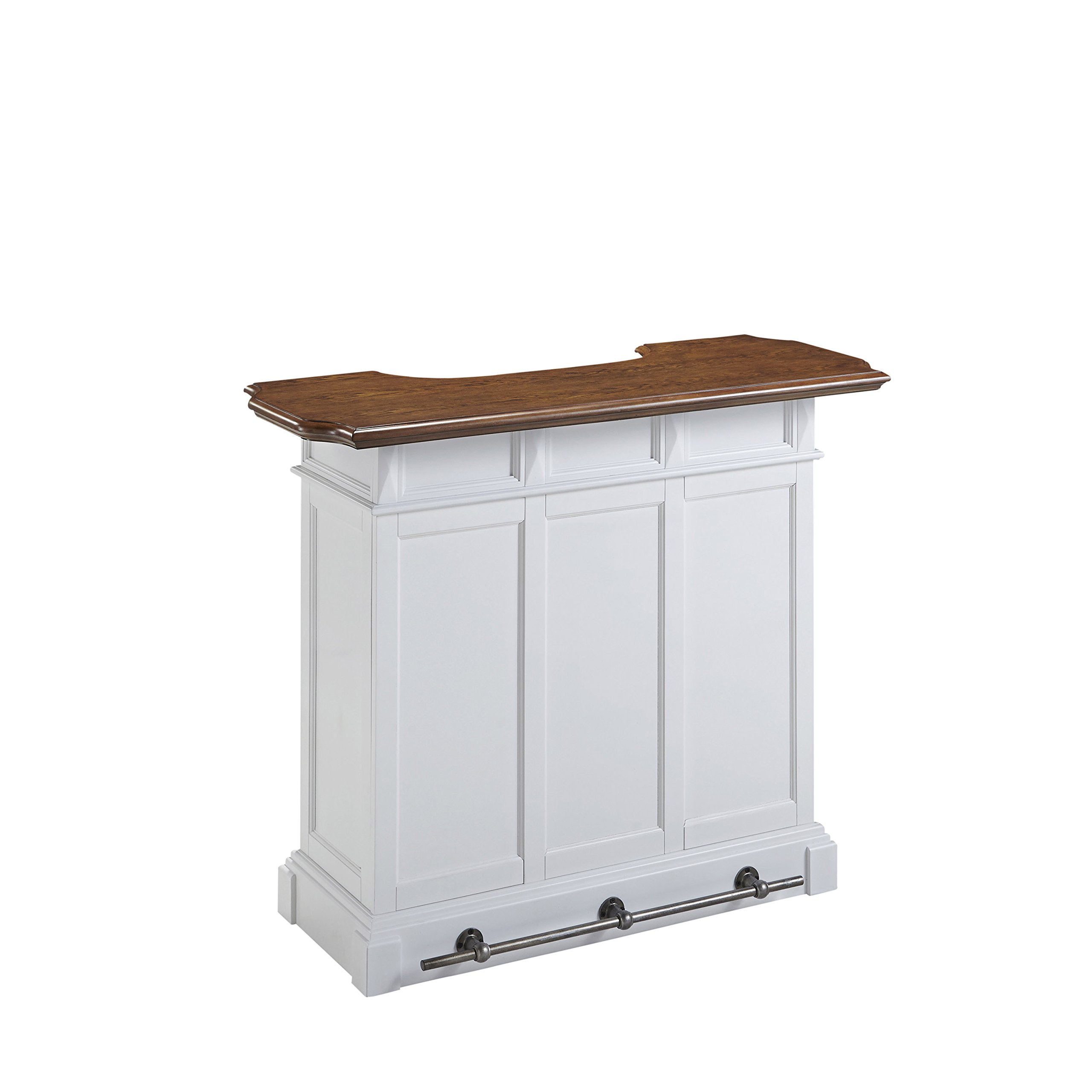 Home Styles Model  5002-99  White and Oak Finish Americana Bar