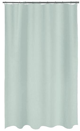 Anker-Motiv bedruckt 180 x 180 cm Basics Duschvorhang Blau Stoff