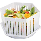 1 Minute Salad Maker Bowl - Make Perfect Salads in 60 Seconds - Multi Purpose All