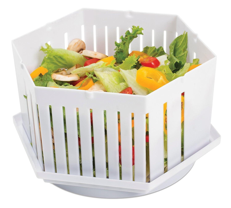 Amazon.com: 1 Minute Salad Maker Bowl - Make Perfect Salads in 60 ...