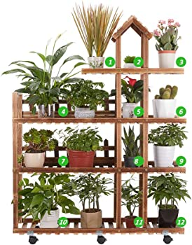 Flurff Homezest 4-Tier Plant Stand