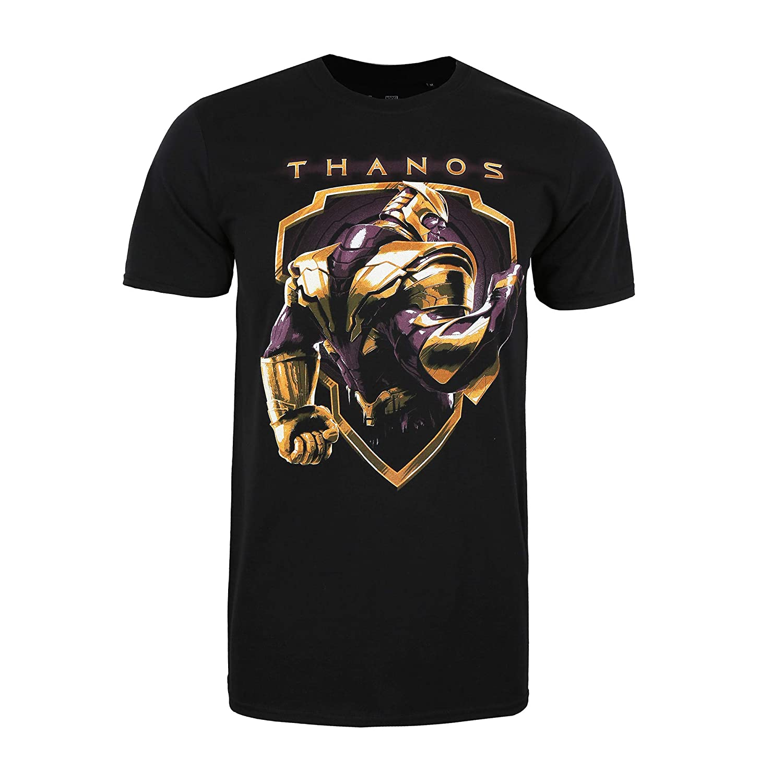 Marvel Avengers Thanos Shield T-Shirt Uomo