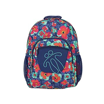 Totto Tempera Kids Backpack and School Bag (multi flower): Amazon ...