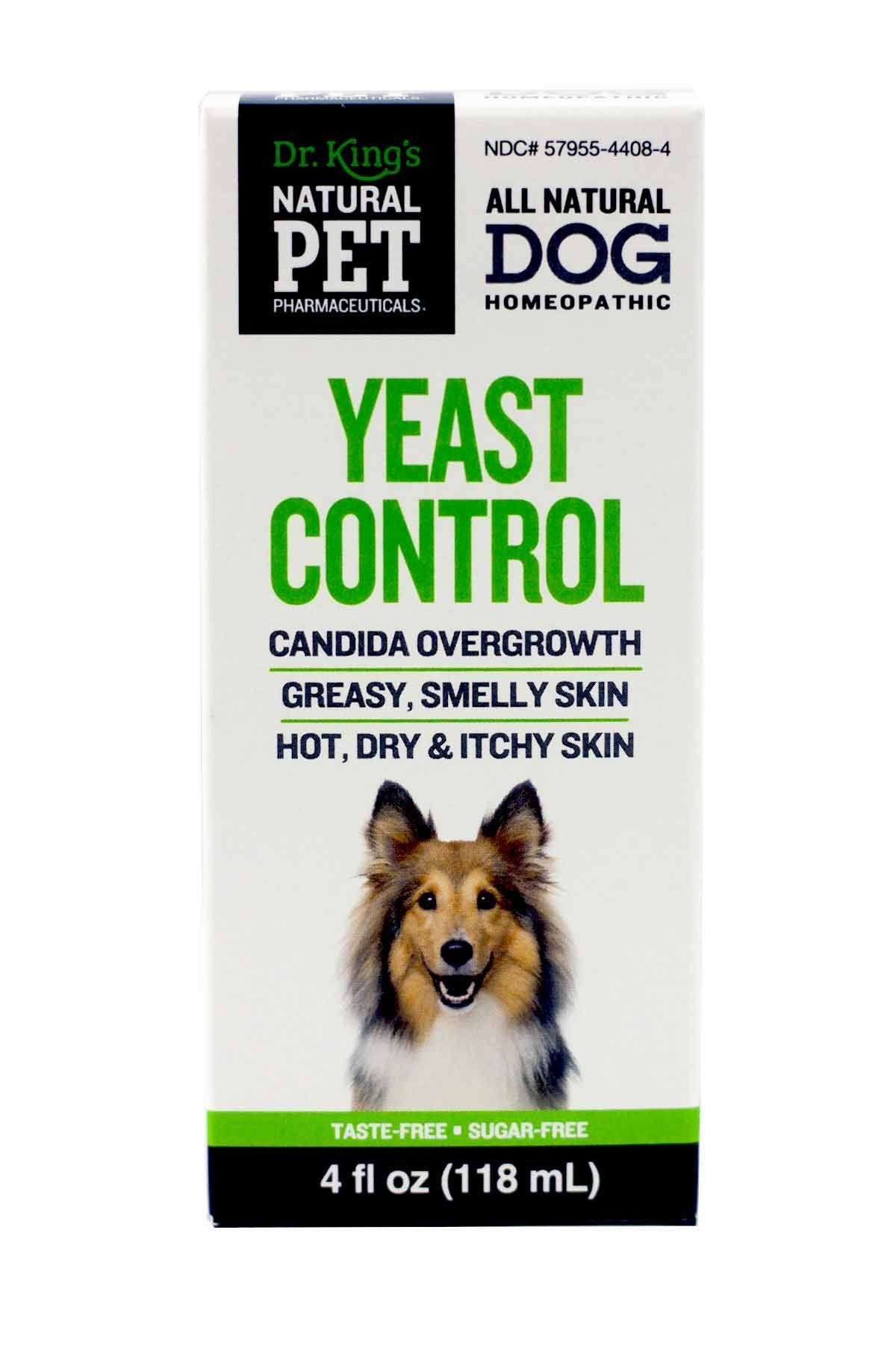 KING BIO HOMEOPATHIC 162935-1 Dog Yeast Control