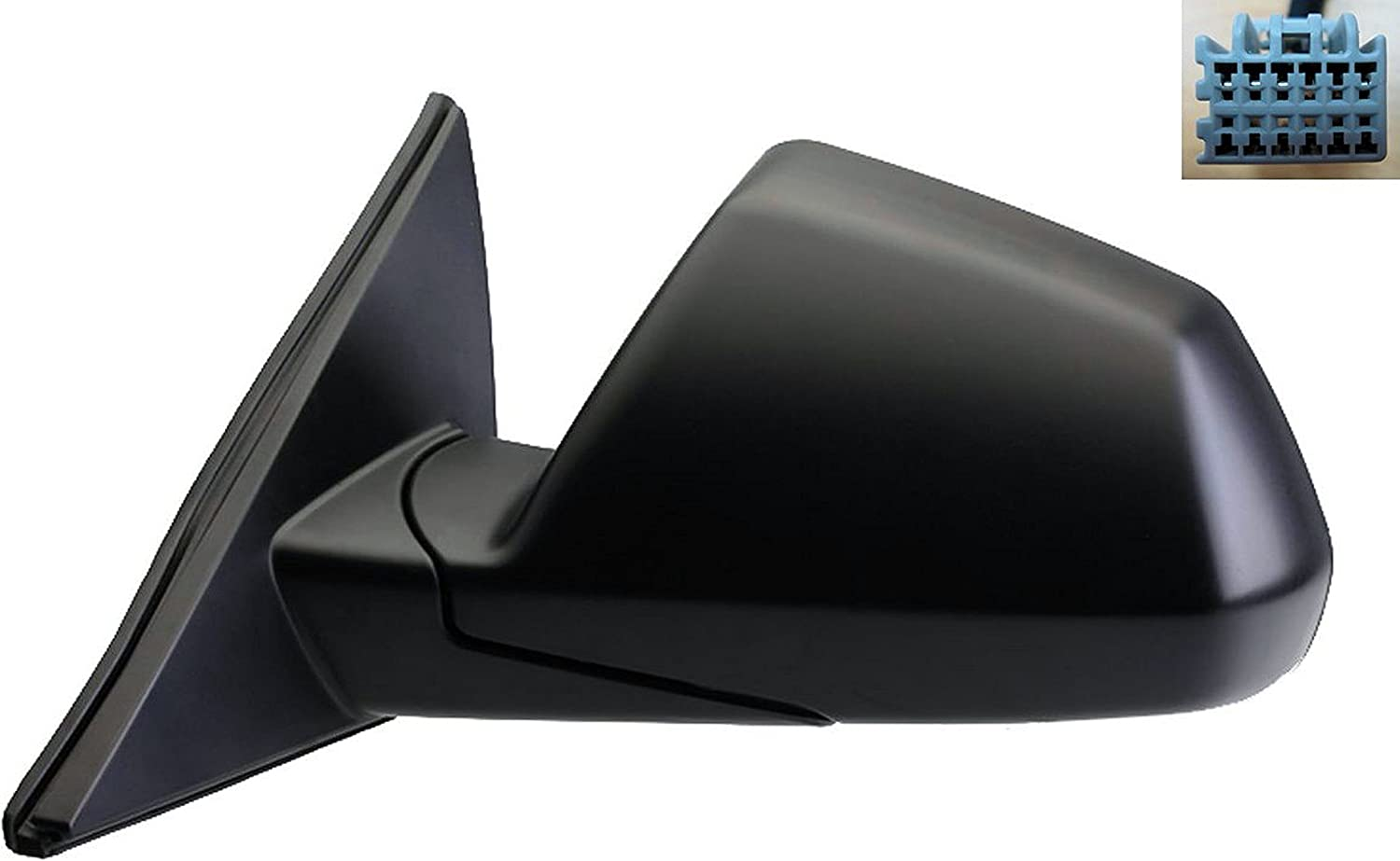 Dorman 955-1795 Driver Side Power Door Mirror Heated//Folding with Memory for Select Cadillac Models Black