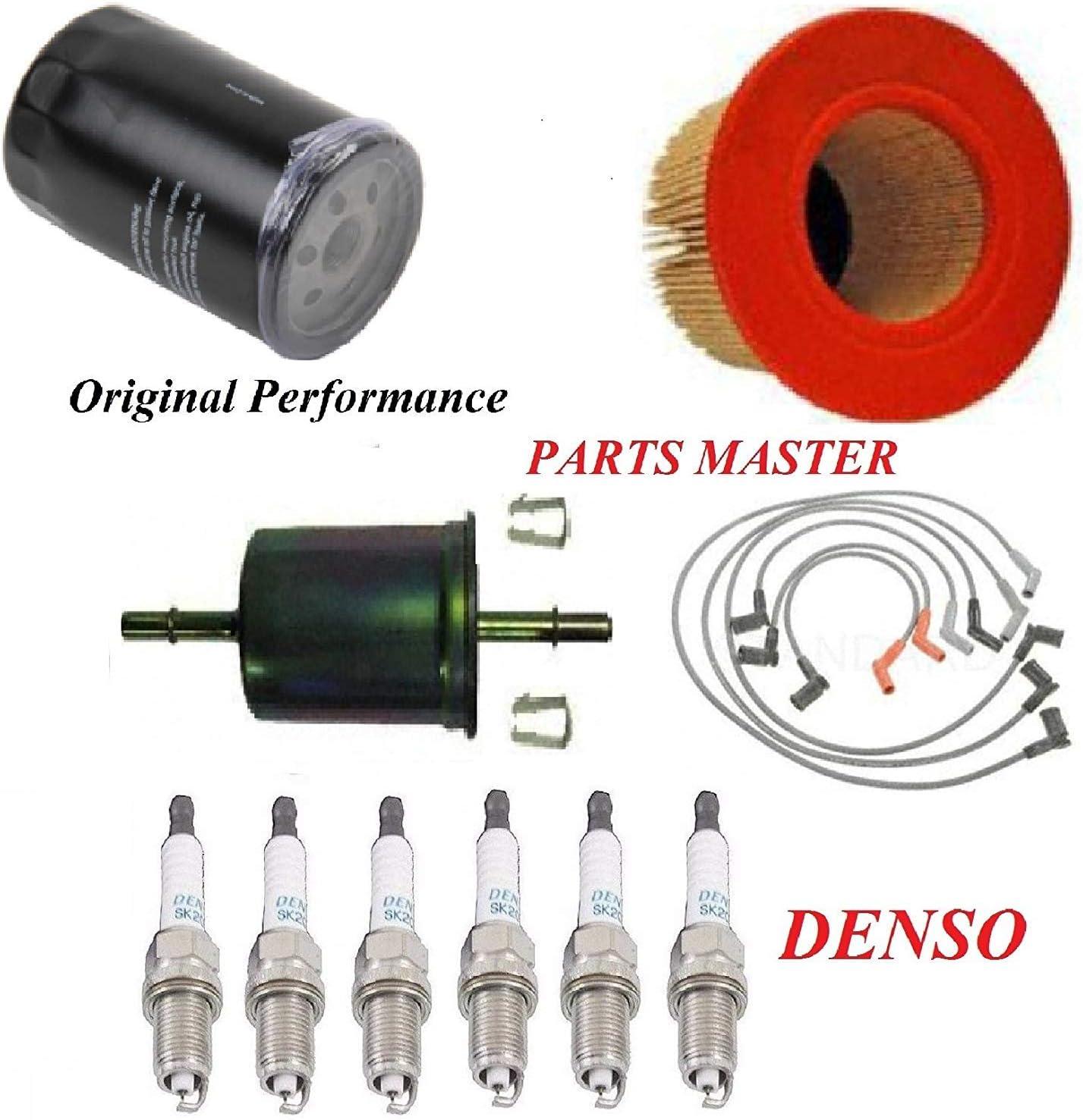 [DIAGRAM_38DE]  Amazon.com: Tune Up Kit Air Oil Fuel Filters Wire Spark Plug FIT FORD F-150  V6 4.2L 2005-2008: Automotive | 2005 F150 Spark Plug Wiring Harness |  | Amazon.com
