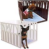 iDog アイドッグ Rest RoomGROVE グローブ 愛犬のためのインテリアトイレ ウッディブラウン