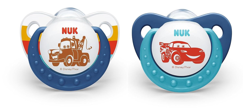 NUK Disney Pixar Cars Silicon Trendline Soother Size 1 (0-6m ...