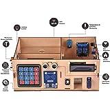 OSOYOO Arduino YUN スマートホームキット Mega 2560 R3 開発ボード YUN シールド オープンソース Linux Open Wrt 木製ミニチュアハウス IoT 電子キット チュートリアル付