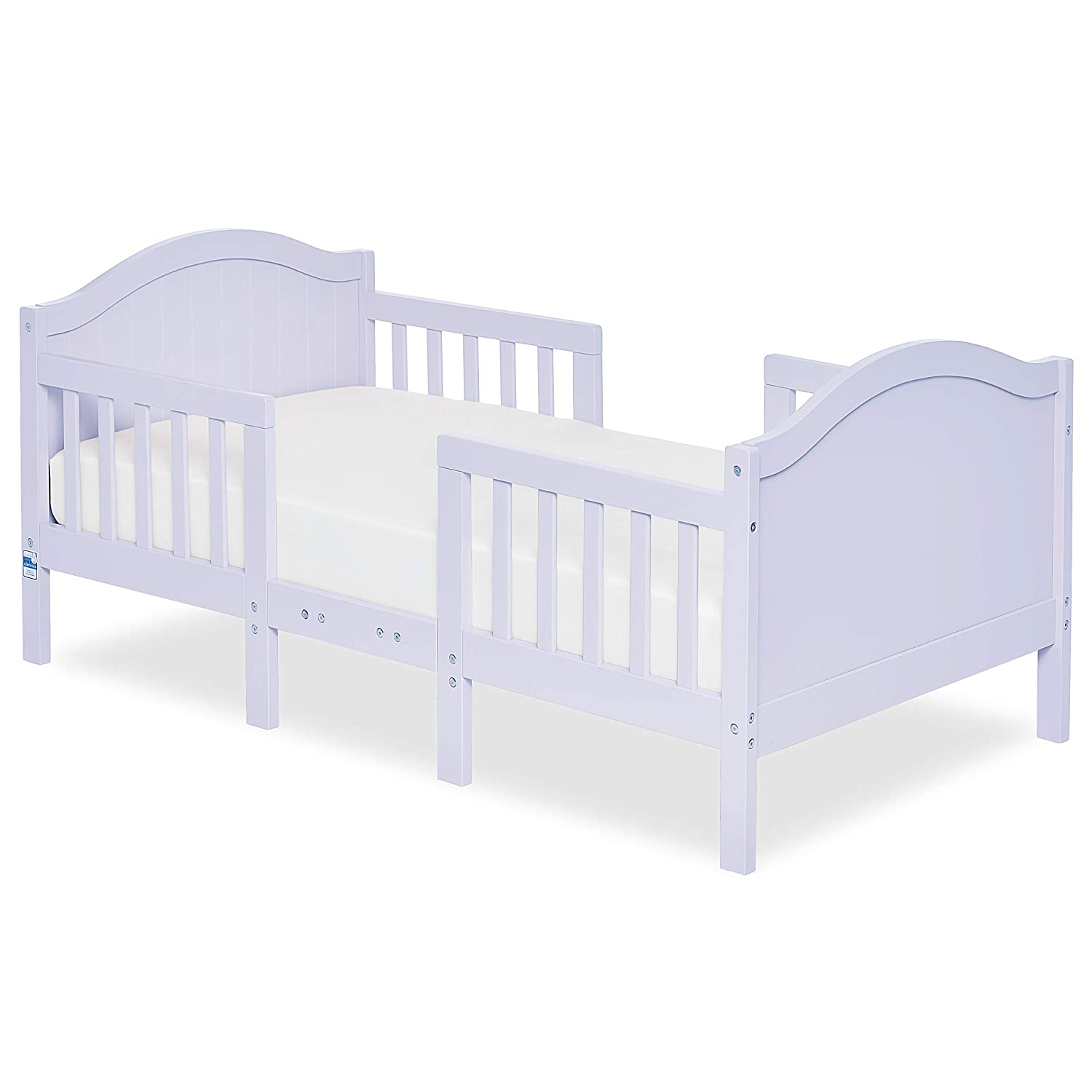Dream On Me Portland 3 In 1 Convertible Toddler Bed, Lavender Ice