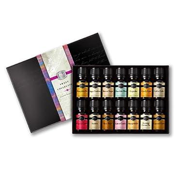 Sweet Set of 14 Premium Grade Fragrance Oils - 10ml