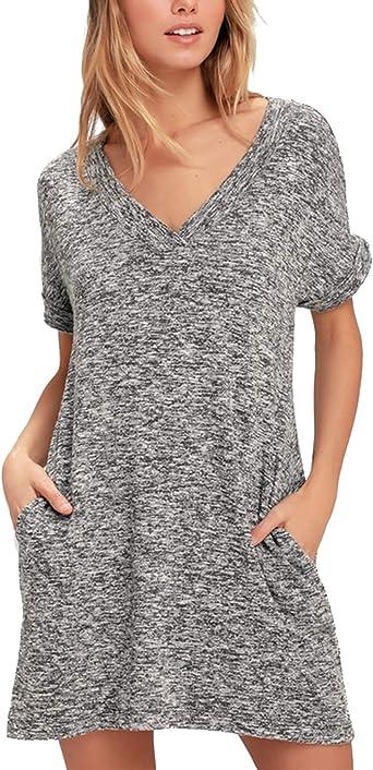 Blooming Jelly - Vestido - camisa - para mujer Gris gris ...