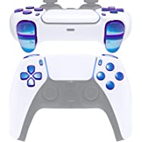 eXtremeRate Replacement D-pad R1 L1 R2 L2 Triggers Share Options Face Buttons for DualSense 5 PS5 Controller, Chameleon…