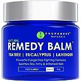 Remedy Tea Tree Oil Balm - Cream for Athletes Foot, Jock Itch, Ringworm, Eczema, Nail Issues, Rash, Skin Irritation…