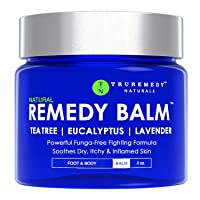 Remedy Tea Tree Oil Balm - Cream for Athletes Foot, Jock Itch, Ringworm, Eczema,...