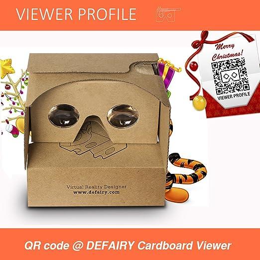 defairy google cardboard v2 0 headset google vr viewer virtual