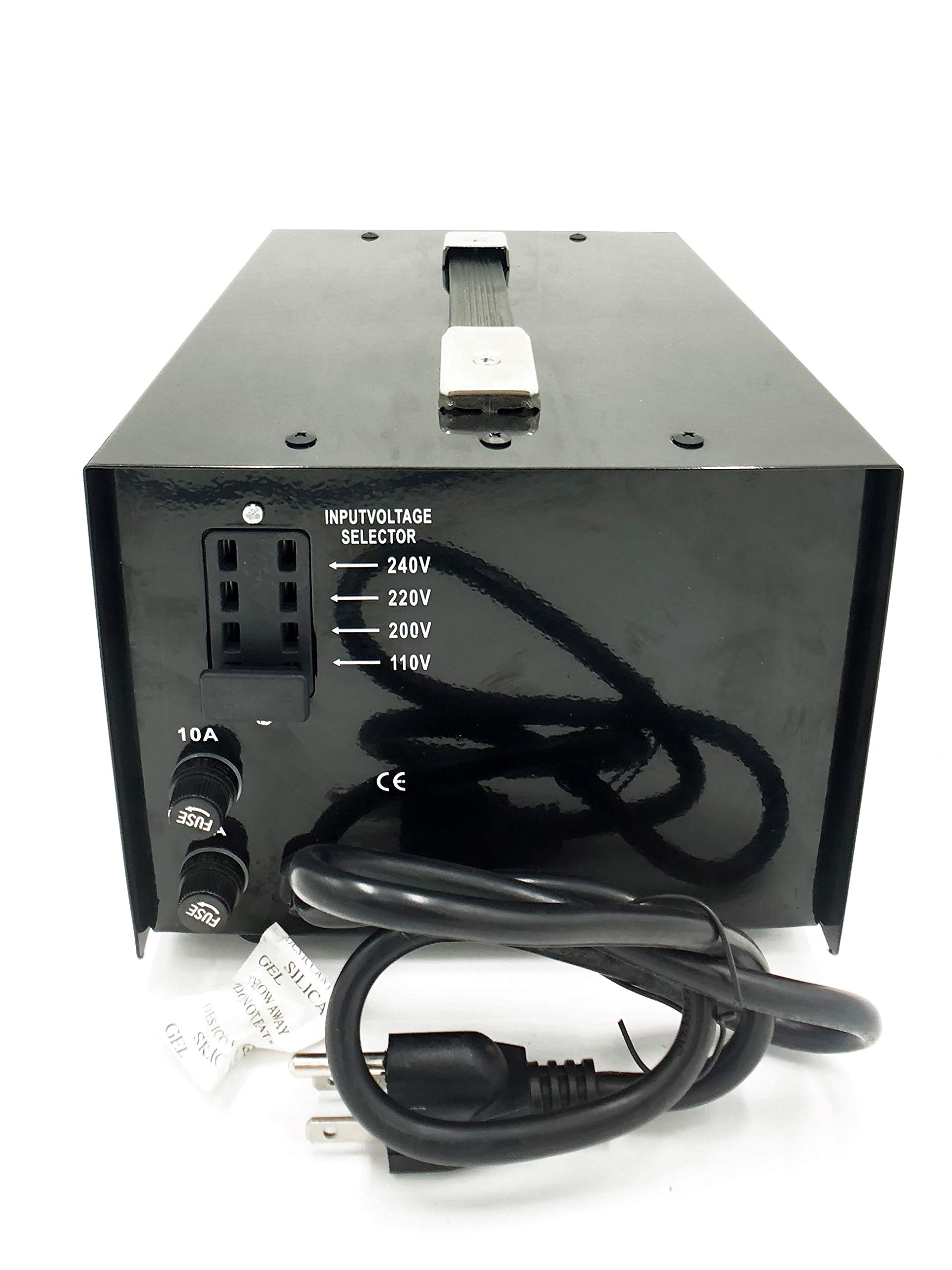 1000W Auto Step Up & Step Down Voltage Transformer Converter, STU-C Series Heavy-duty AC 110/220V Converter with US Standard, Universal, Schuko AC Outlets & DC 5V USB Port by Goldsource by Goldsource (Image #4)