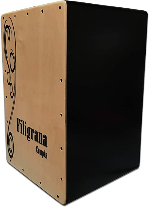 Cajon Flamenco Filigrana Compás: Amazon.es: Instrumentos musicales
