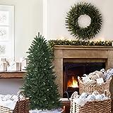 Balsam Hill Berkshire Mountain Fir Artificial Christmas Tree, 4.5 Feet, Unlit