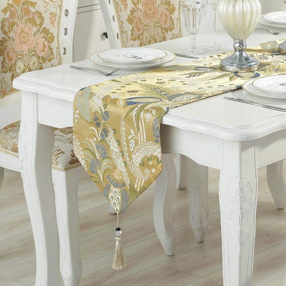 kaige table runners European Table flag Cloth table decoration long fabric hotel bed flag bed tail Towel 210CM