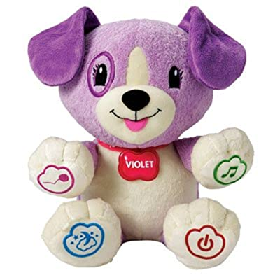LeapFrog My Puppy Pal Violet baby gift idea : Electronic Learning Toys : Baby [5Bkhe0506870]