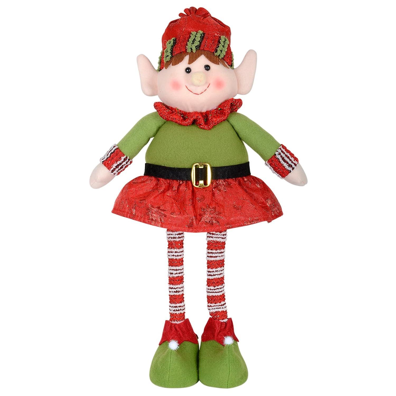 42cm santas little helper elf figure standing christmas xmas