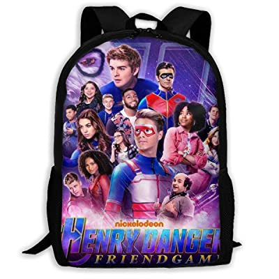 Malcolm Eddie Children¡¯s School Bags He-nRY Da-nG-eR 3D Print Backpacks Kids Daypack For Boys Girls | Kids' Backpacks