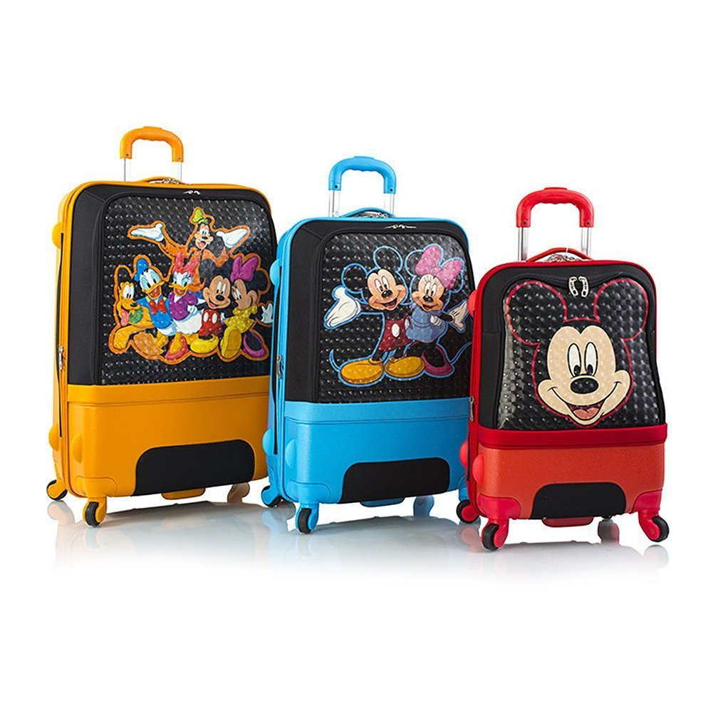 Heys Disney Clubhouse Hybrid Luggage Suitcase Set [3-Pieces] by Heys