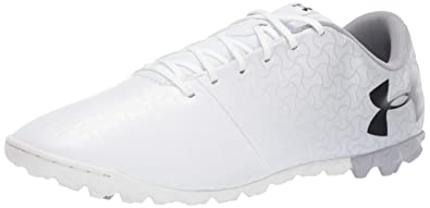 2968c69bb Under Armour Men s Magnetico Select TF Football Boots White Metallic Silver  Black 100