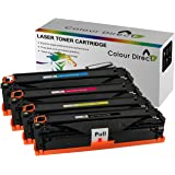 Full Set Colour Direct Compatible Toner Cartridges Replacement For Dell C3760n C3760dn C3765dnf Printers High Capacity
