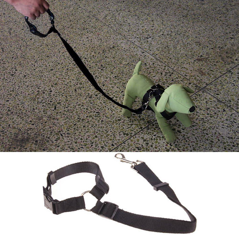 Lantelme Hunde Sicherheitsgurt XL bis 95 cm schwarz blau rot Auto Kfz Adapter Anschnallgurt Hundegurt