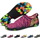 Barefoot Water Shoes Mens Womens Quick Dry Unisex Sports Aqua Shoes Lightweight Durable Sole for Beach Pool Sand Swim Surf Yoga Water Exercise