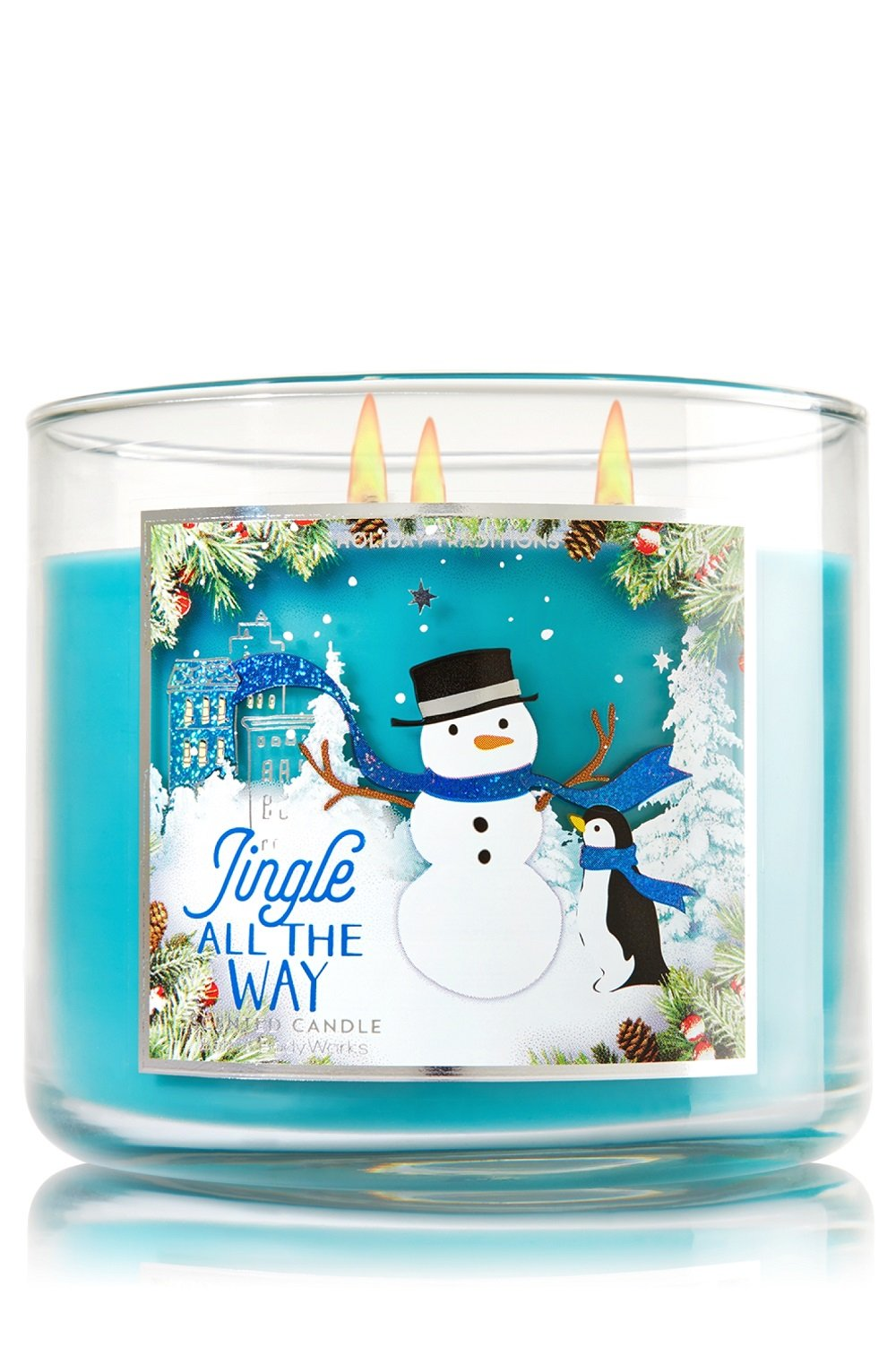 Bath & Body Works JINGLE ALL THE WAY 3-Wick Candle (14.5 oz)