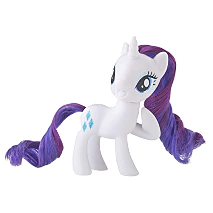 Amazoncom My Little Pony Mane Pony Rarity Classic Figure Toys Games