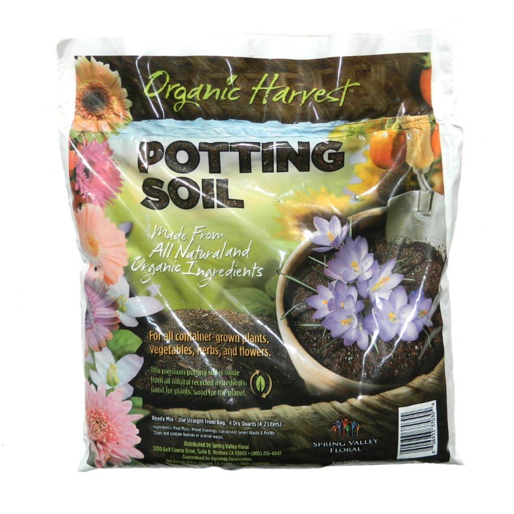 Organic harvest potting mix soil for vegetables herbs and for Harvest organic soil