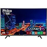 "Smart TV LED 55"" UltraHD 4K PTV55U21DSWNT, 3 HDMI, 2 USB, MIDIACAST e Netflix UNICA"