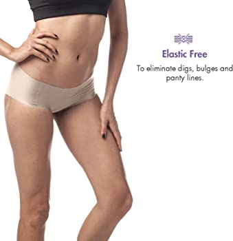Ivory Low Rise Lo VPL Microfibre Stretchy 2nd Skin Brief Knickers 6 XXS